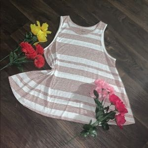 🌹Gorgeous Sonoma Sleeveless Stripes Blouse🌸